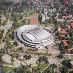 Новата зала на Стара Загора ще е с подземни паркинги за 750 коли и 5200-6400 седящи места