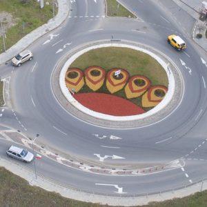 """Обновяват визията на кръговите кръстовища на бул. """"Славянски"""" в Стара Загора"""