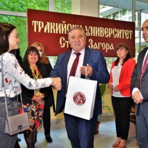 Откриха кандидатстудентската кампания в Тракийския университет
