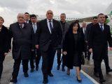 """Премиерът Борисов пристигна в Истанбул за церемонията по откриването на """"Турски поток"""", ще се срещне с Ердоган"""