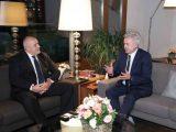 """Премиерът Борисов се срещна с президента на """"Лукойл"""" Вагит Алекперов"""
