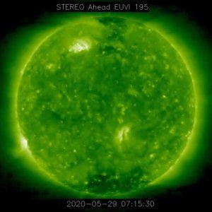 Първо изригване със средна мощност (M1.1) от новия слънчев цикъл SC25