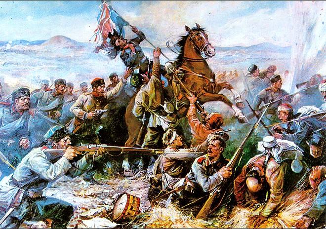 Боят за Стара Загора, юли 1877 г.