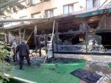 """Изгоря ресторантът на хотел """"Железник"""" в Стара Загора"""