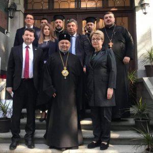 Митрополит Киприан се срещна в Стара Загора с посланика на Русия у нас