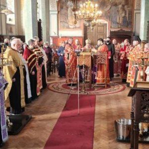 Молебен за България отслужи Старозагорският митрополит Киприан
