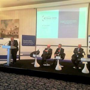 """Ректорът на Тракийския университет доц. д-р Добри Ярков участва в конференция """"Инициатива """"Три морета"""" – единство, иновации, свързаност"""""""