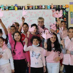 Световния ден на розовата фланелка отбелязаха в старозагорско училище